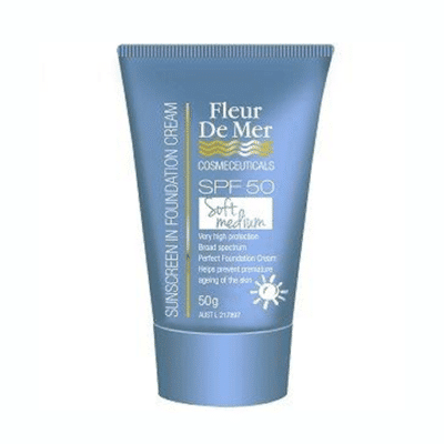 Fleur De Mer Sunscreen - soft-medium spf50